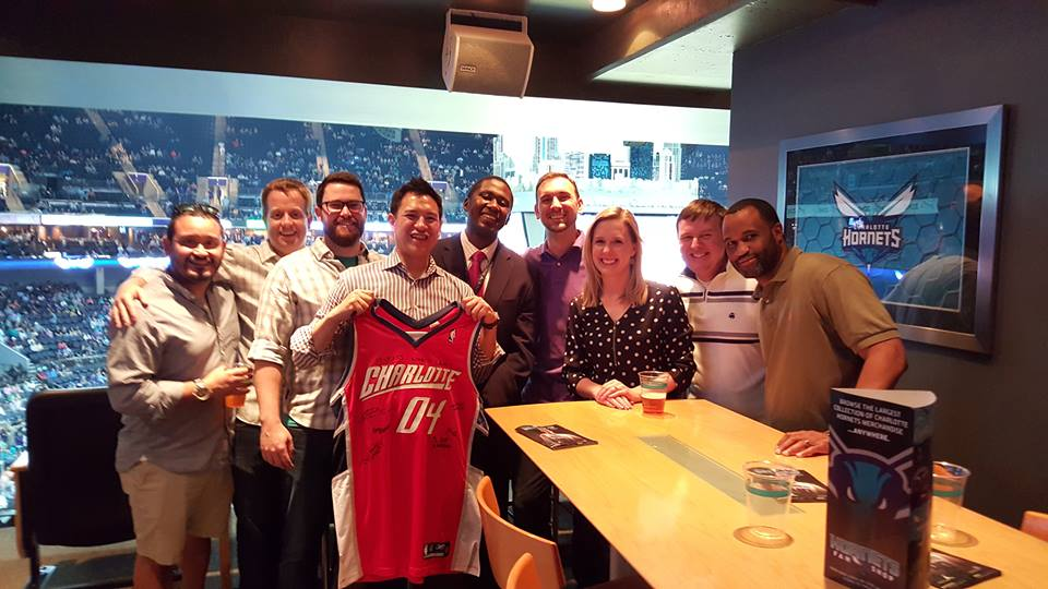 Bobcats inside sales ten-year reunion, 2016